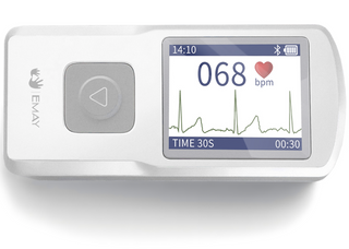 Wireless EKG Monitor-Grey